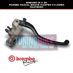 BREMBO RADIAL BRAKE MASTER CYLINDER 19X20 FORGED FOR BMW HP4 12-14