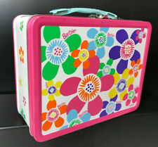 1998 Metal Barbie Lunchbox Complete with Thermos - Very Colorful!