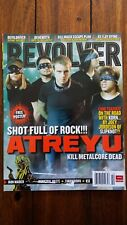 Revolver Magazine October 2007 Atreyu Devildriver  Behemoth Poster Included