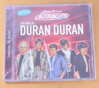 KARAOKE - THE SONG OF DURAN DURAN - NUOVO CD [AA-211]