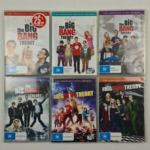 The Big Bang Theory Complete Season 1-6 - Region 4 - TRACKED POST