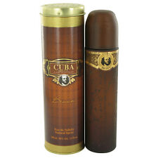 Cuba Brown Original By Cuba 3.3/3.4oz. Edt Spray For Men New In Can