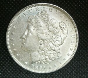 1891 - S Morgan Silver Dollar   HIGH QUALITY   Mint State