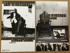 VIC CHESNUTT Rare 2005 DOUBLE SIDED PROMO POSTER for Ghetto CD 11x17  MINT