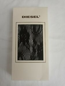 New w/tags Diesel Black Knit Hoses Tights XS Italy