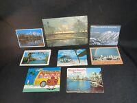 Lot Vintage  Postcards Miami Utah San Francisco Worlds Fair Florida Salt Lake