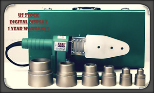 POLY FUSION HDPE PE Pipe Butt Welder Up to 63mm Socket Heater Machine