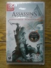 Assassin's Creed III Remastered -- Standard Edition (Nintendo Switch, 2019)