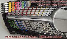 Farbige Aufkleber Folien Decals für Mercedes CLA W117 Urban- Diamantgrill AMG