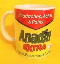 ANADIN EXTRA- ADVERT LOGO - ADVERTISEMENT- ON A MUG