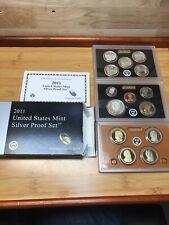 2011 U.S. SILVER PROOF SET Original Packaging With COA