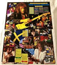 Yngwie Malmsteen 1980s Clippings Posters Swedish Music magazine Okej Vintage