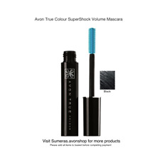 Avon New SuperShock Mascara Black 10ml Sealed Free P&P Great Gift