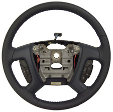 2009-2010 Saturn Outlook Steering Wheel Blue Leather W/CC Audio New 25961510