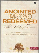 Beth Moore, Priscilla Shirer Anointed, Transformed, Redeemed Bible Study DVD's