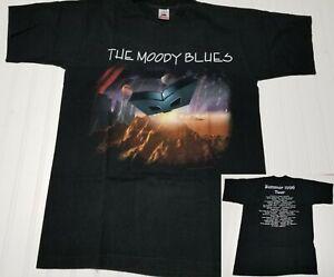Vintage The Moody Blues Summer 1996 Tour Concert T-Shirt Men Large Traveller