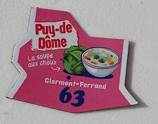 63 PUY DE DOME MAGNET LE GAULOIS CARTE NOUVELLE COLLECTION DEPARTAIMANT