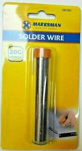 SOLDER WIRE FLUX COVERED ELECTRICAL SOLDERING 20G TUBE TIN LEAD DIY HOBBY 36C