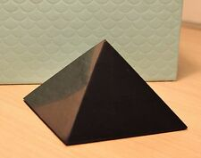 Shungite pyramid BIG 150 mm EMF protection schungit pyramiden healing stone PP09