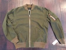 RRL Ralph Lauren Japanese Herringbone Twill Cotton Bomber Jacket MEN XL $590