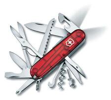 VICTORINOX Huntsman Lite transparent rot NEU/OVP Taschenmesser m. LED 1.7915.T