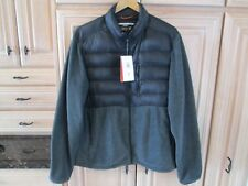 Men's Hawke & Co. Sport Performance Puffer Down Jacket Charcoal Size Large NWT