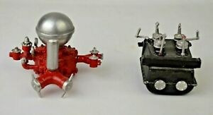 Very Detailed Diecast Pump For Vintage Ahrens Fox Model Fire Truck Excellent
