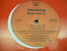 "Omarion-Beg For It-12""Single-Vinyl-Columbia-CAS709417-VG++"
