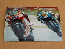 Valentino Rossi/ Casey Stoner 7 x 5 Photo