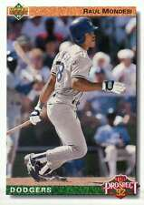 Raul Mondesi, Los Angeles Dodgers, Baseball Trading Card - Not Postcard