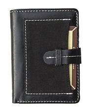 Black Leather Designer Purse by Kenneth Brownne