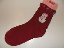 Gymboree Alpine Sweetie Socks Girls Size 3 4 Snowman