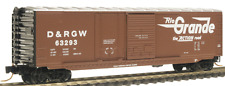 Micro-Trains N DRG&W 50' Box Car w/Plug & Sliding Door