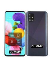 TELEFONO FINTO DUMMY SCHERMO COLORATO REPLICA Samsung Galaxy A51 NERO
