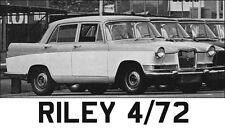 Riley 4/72 Set Tappeti FARINA-Superior Profondo Pile, Lattice Sostenuto