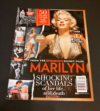 National Enquirer's 50th Anniversary of Death Magazine Marilyn Monroe Cover
