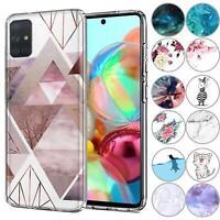 Handy Case für Samsung Galaxy A41 Hülle Silikon Muster Schutz Cover Handyhülle