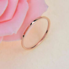 Simple Fashion Finger Rings Men Women Gold Knuckle Thin Midi Ring Party Jewelry