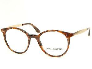 NEW D&G Dolce&Gabbana DG 3292 3131 CUBE BRONZE EYEGLASSES DG3292 50-20-140mm