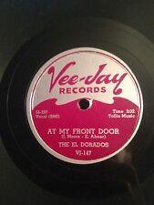 ROCK 78 Vee Jay El Dorados 147 At My Front Door / Whats buggin you baby V++/V+