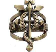 Fullmetal Alchemist Edward Elric Bronze ring set