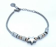 WOMEN'S STAINLESS STEEL STAR JEWELLERY  BRACELET SILVER/GOLD