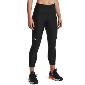 Under Armour HeatGear No-Slip Waistband Ankle Leggings Women's Black Sportswear