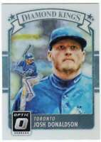 2016 Donruss Optic Diamond Kings Holo Refractor #29 Josh Donaldson Blue Jays
