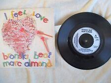 """BRONSKI BEAT Marc Almond I FEEL LOVE 7"""" SINGLE Forbidden Fruit"""