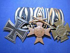 ORDENSSPANGE - EK 2 1914 - Merenti mit Schwerter - Frontkämpferkreuz 1. WK