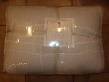 Pottery Barn Kids Girls Lillian Ruching & Pintucks Quilt White Twin #1173