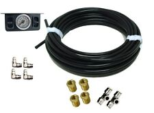 """Basic Front & Rear Manual Kit for 3/8"""" NPT Bags with Paddle Switch Gauge Panel"""