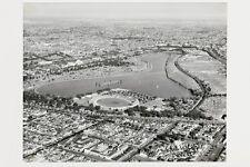 South Melbourne ALBERT PARK LAKE Lakeside Oval 1954 modern digital Postcard