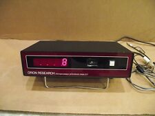 Orion Research 811 Digital Ionalyzer Microprocessor pH/millivolt Meter and leads